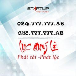 Số cố định IP lục quý kép 024/028.777.777.AA | Startup Việt Nam
