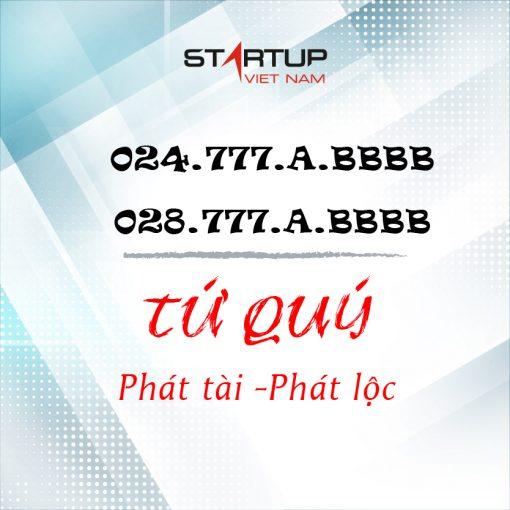 Số điện thoại cố định IP Tứ quý 024/028.777.XX.AAA