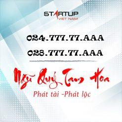 Số cố định IP ngũ quý tam hoa 024 cho Hà Nội và 028 cho TP HCM dạng số 024/028.777.77.xxx