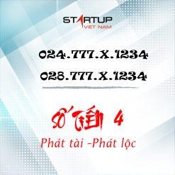 Số cố định IP tiến 4 024/028.777.ABCDE | Startup Việt Nam