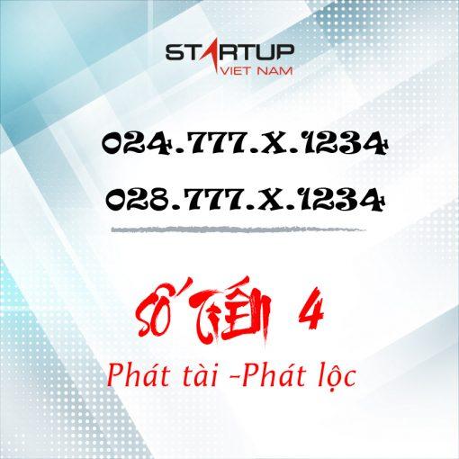 Số cố định IP tiến 4 024/028.777.ABCDE   Startup Việt Nam