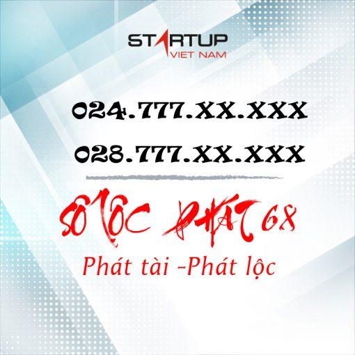 Số điện thoại cố định IP Lộc phát 68 024/028.777.XX.AAA
