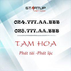 SỐ ĐIỆN THOẠI CỐ ĐỊNH IP TAM HOA 024/028.777.XX.AAA